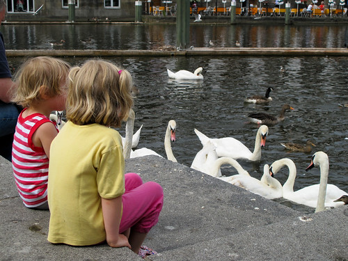 Children Holding Court - Hamburg, Germany