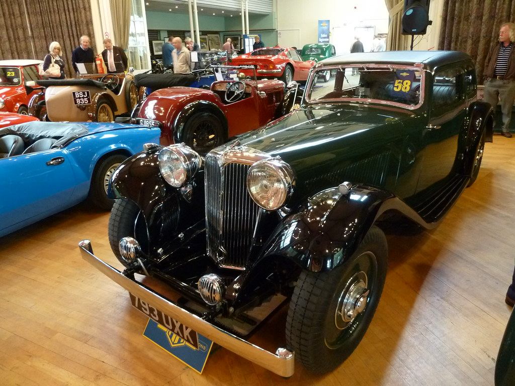 793 UXK - 1934 SS 1 20hp Four Light Saloon