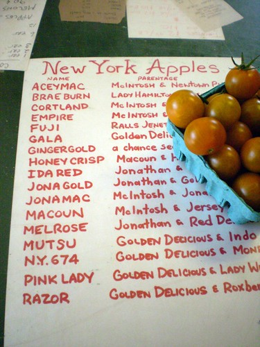 NY - the big apple(s)