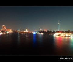 Cairo City Overview (Bakar_88) Tags: life city longexposure night photography lights flickr egypt cairo egypte lecaire nikond60 andrewashenouda
