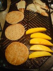 Asando el mango