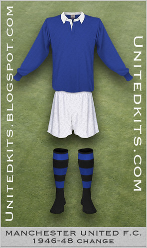 Manchester United 1946-1948 Change kit