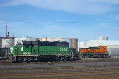 BNSF 2907 + 3613