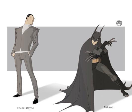 Kizer,  Batman - Bruce Wayne
