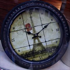 1010 ~ Time Flies ~ Tour Eiffel ~ Paris ~ MjYj (MjYj) Tags: paris clock toureiffel timeflies 1010 img9154 saariysqualitypictures mjyj mjyj