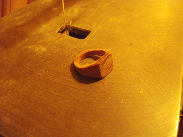 The Result, a Wooden Ring