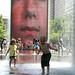 Chicago (ILL) Millennium Park, Crown Fountain, Jaume Plensa  2004