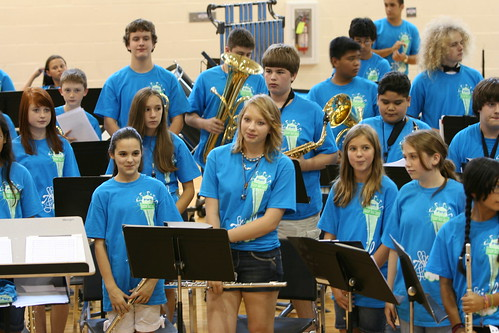 7/23/10 - Band camp concert