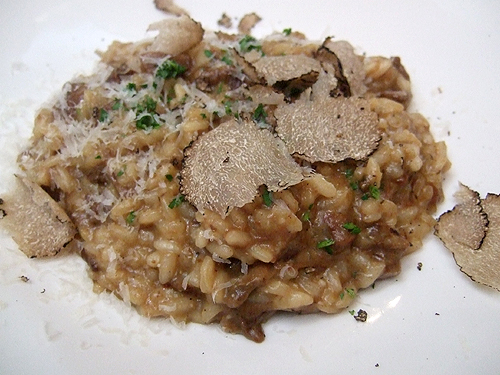 Tony's Summer Black Truffles with Risotto