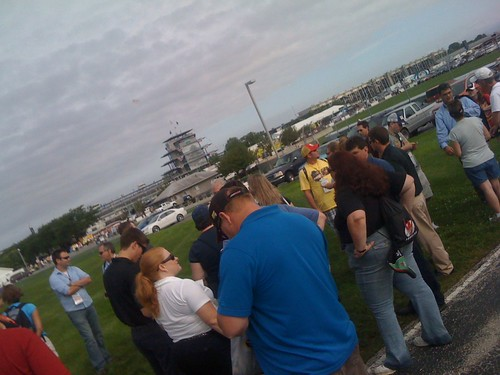 Crashing an @NASCAR Tweet Up