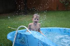 Splashin' in the Pool