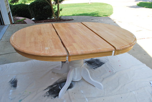 Pedestal Table Before