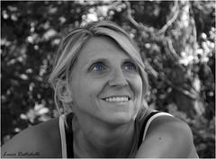 Cecy (L *) Tags: portrait nikon occhi bianco ritratto nero biancoenero ragazza faccia d60 volto espressione