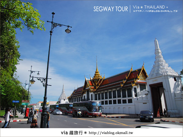 【泰國自由行】曼谷玩什麼?Segway塞格威帶你漫遊~20
