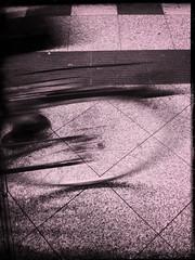 Too fast. (Sascha Unger) Tags: light urban motion blur berlin art station bike germany underground subway licht movement traffic perspective bahnhof stadt ubahn wilmersdorf sascha bahn verkehr fahrrad perspektive charlottenburg iphone adenauerplatz pictureshow sascha2010 saschaunger