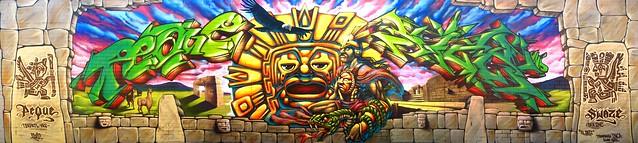 INKA mural...
