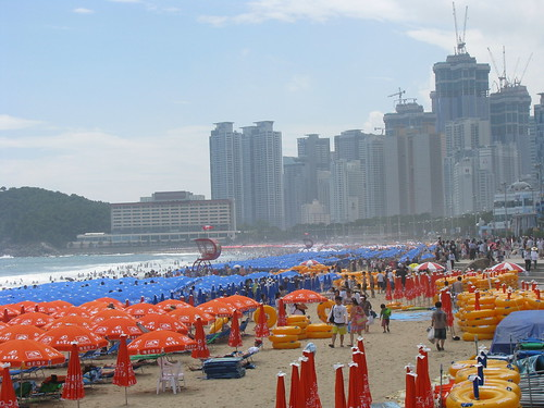 Haeundae Beach Busan, South Korea