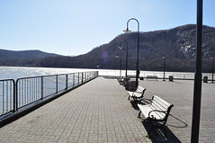 Cold Spring (Erin Maree) Tags: mountain lines river bench nikon boardwalk leading coldspring d5000