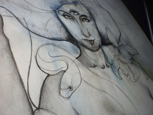 in progress: Lady of the Serpents