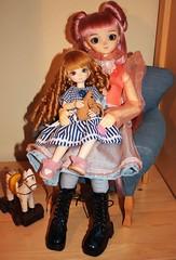 Keke and Margje (fashiondollcrazy) Tags: girl doll lotus bjd resin volks nono sd10 f11 ae yosd pureskin asleepeidolon