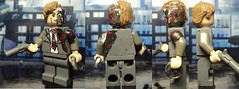 Two-face (billbobful) Tags: two face dark lego knight tdk twoface