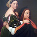 Ingres, Raphael and the Fornarina (detail with couple), 1814