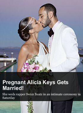 Alicia Keys s-a casatorit by stiri_de_bine