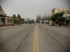 Rossland, BC @ 8AM = Ghost Town (.WFJ) Tags: sunset sun mountains water coffee rain fog clouds beans iron bc britishcolumbia lakes trails mining hills trail vineyards biking mtb ghosttown teck osoyoos zinc orchards shredding rossland americano cominco canadiano keremeos 7summits smelters boundarycountry gnarnia