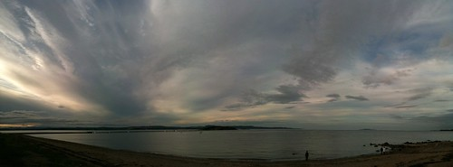 Cramond Sea Sky and Clouds