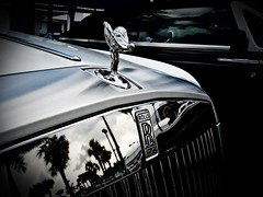Badge of Luxury (TMashPhotos) Tags: black lady silver wings unique special chrome badge rolls phantom luxury royce