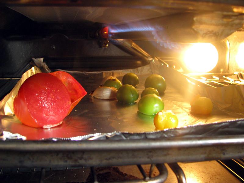 garden tomatillo salsa