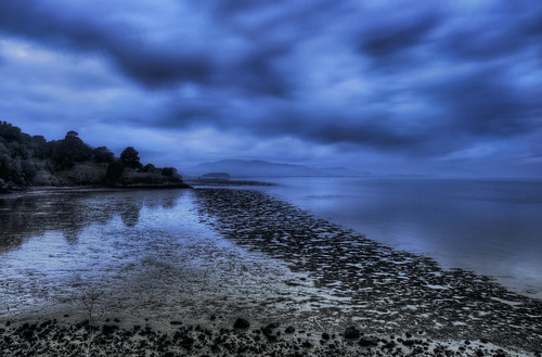 Low Tide at Dusk