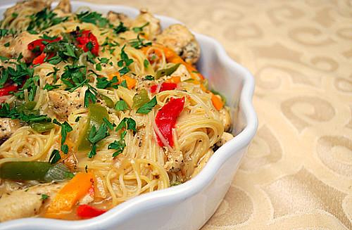 instant pot chicken scampi whats cookin chicago - Olive Garden Chicken Scampi Recipe