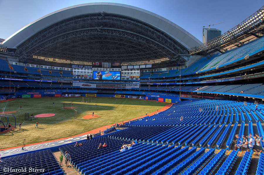 The Rogers Center (Skydome)