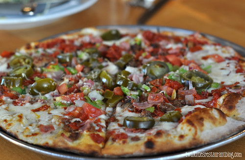 Spicy Pizza @ Brick Oven ~ Austin, TX
