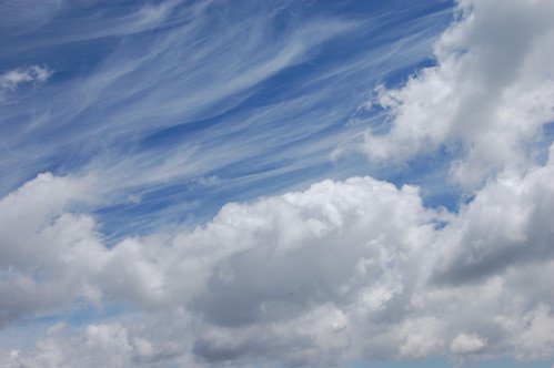 A escasos metros de las nubes
