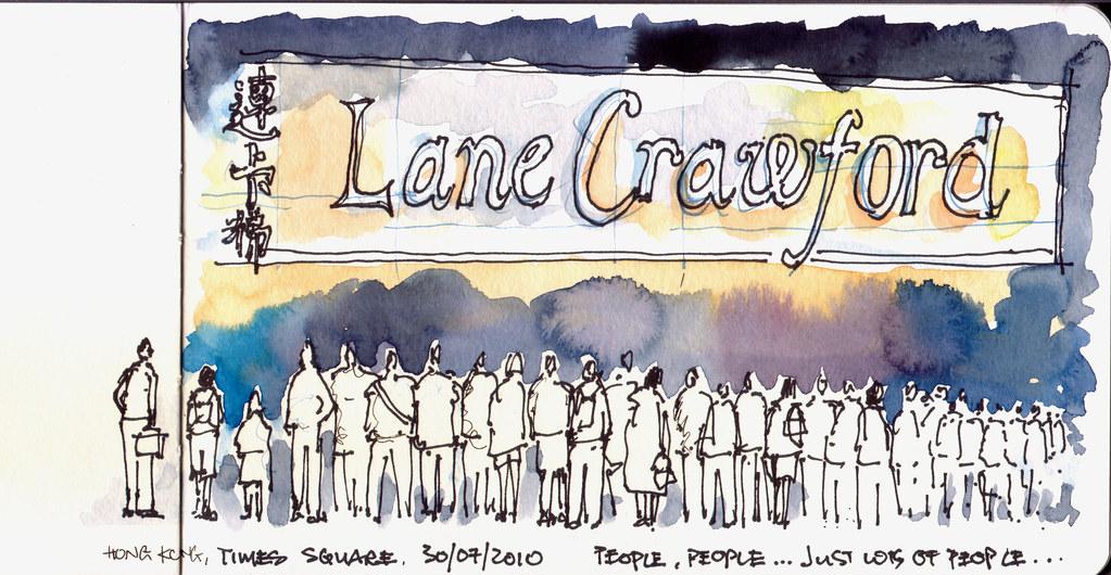 Lane Crawford, Hong Kong
