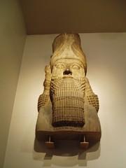 Man Bull Bust (Aidan McRae Thomson) Tags: sculpture london iraq palace relief britishmuseum mesopotamia assyrian nimrud