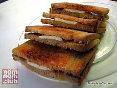Kaya Toast with Kaya Spread and Butter