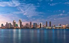 My Town (mojo2u) Tags: california city sunset skyline bay harbor sandiego sandiegoskyline nikond700 nikon2470