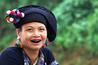 Ethnic  minority woman