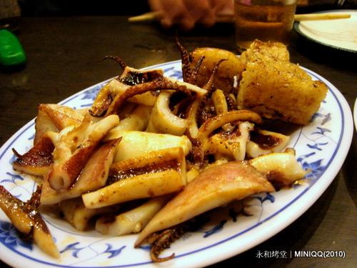 20100803 永和烤堂024 魷魚