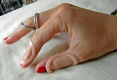 Finger Splints right (Jo Southall) Tags: finger ring syndrome splints ehlers murphey danlos hypermobility oval8