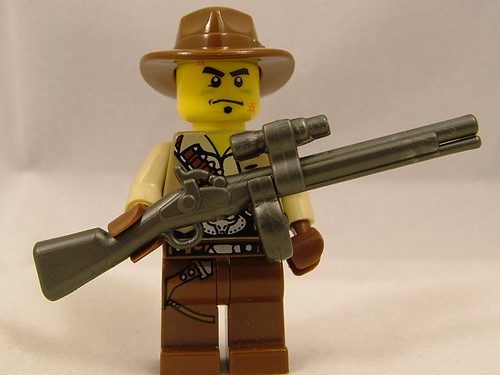 BrickArms Musket Prototype - Customized for Big Game!