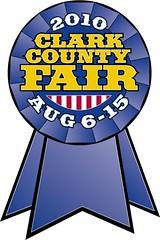 2010 Clark County Fair logo