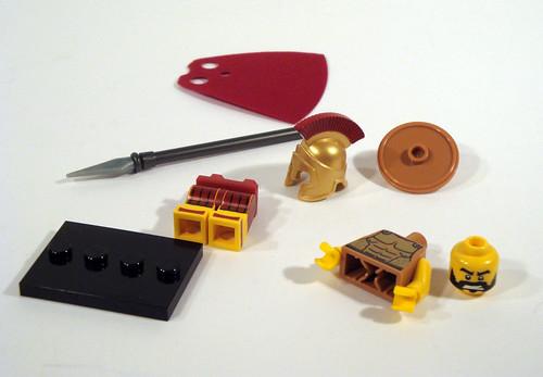 LEGO Collectable Minifigs Series 2 - Spartan