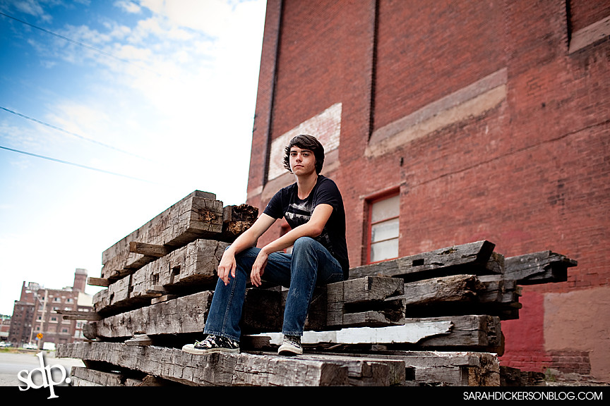 Kansas City west bottoms senior portraits