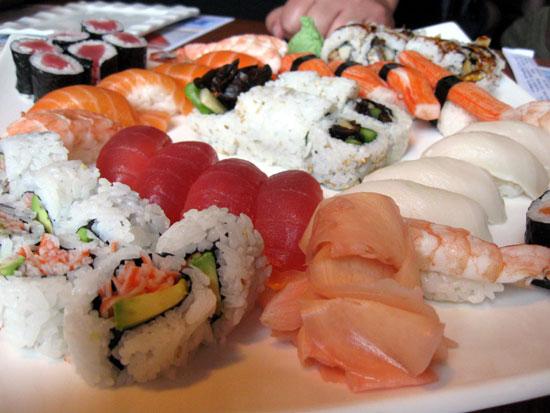 Sushi at Edo