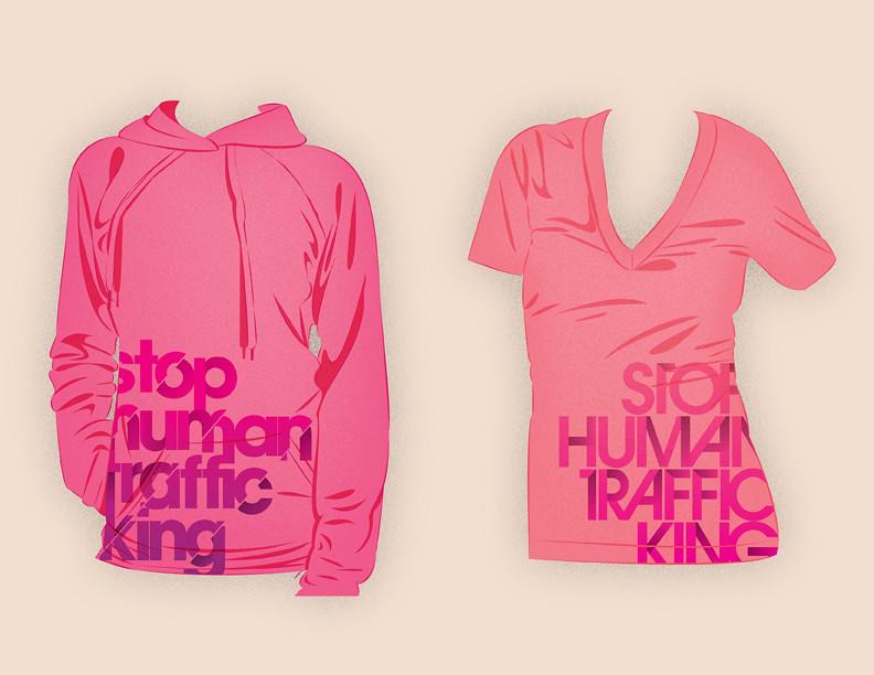 Stop Human Trafficking T's