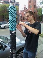 Crochet tag